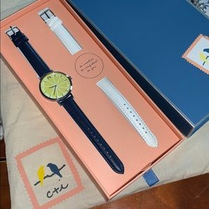 Chloe & Isabel Limoncello convertible watch
